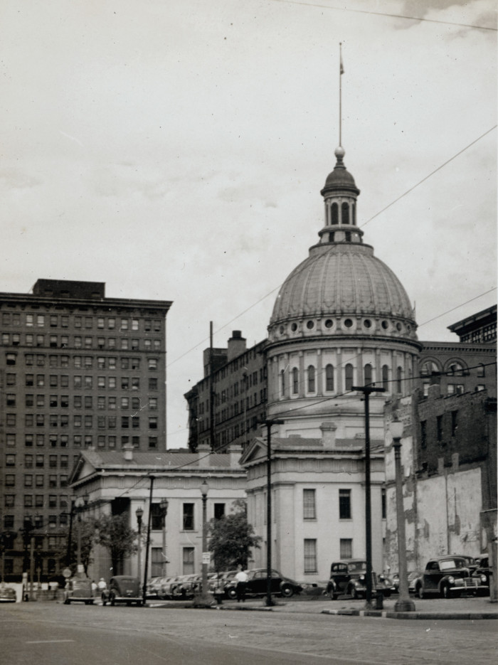 4. Old Court House.  11 North Fourth Street, St. Louis.  Photograph by Joseph Hampel, 1946.