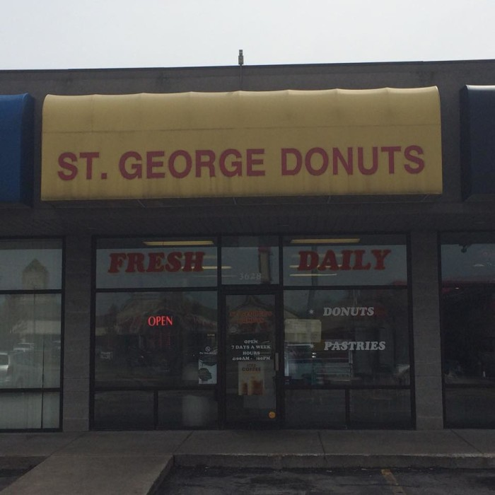 4. St. George Donuts, Springfield