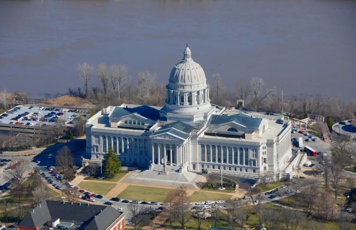 4. Missouri State Capitol Building, Jefferson City