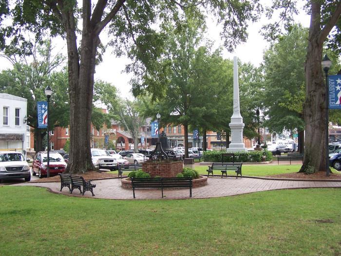 13. Abbeville, SC