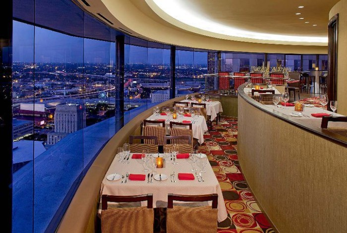 5) Spindletop Restaurant at the Hyatt Regency (Houston)