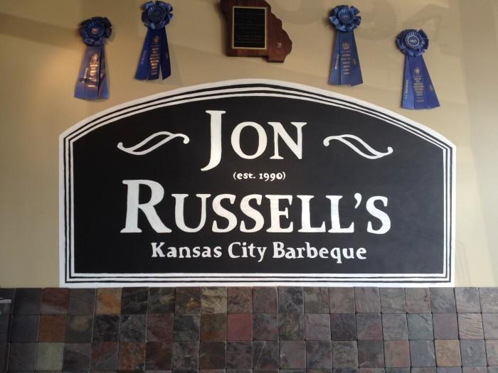 2.) Jon Russells BBQ (Overland Park)
