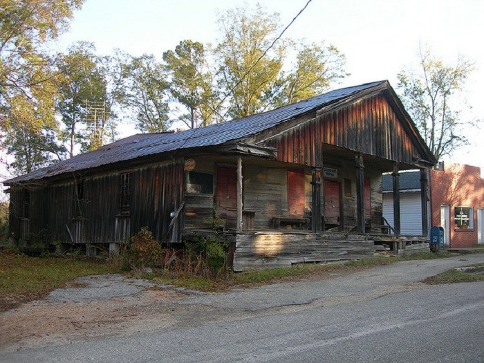 7. Coleman Bros. General Store, located in Whatley, Alabama, was in service from 1889-1962.
