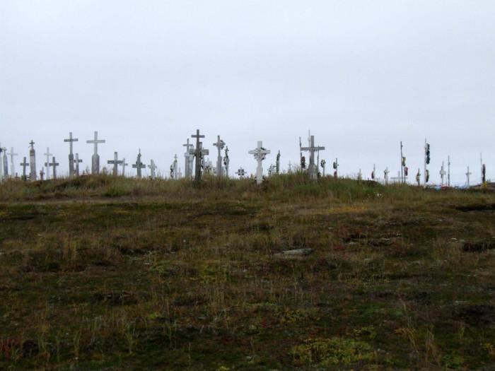 3) Hooper Bay Cemetery