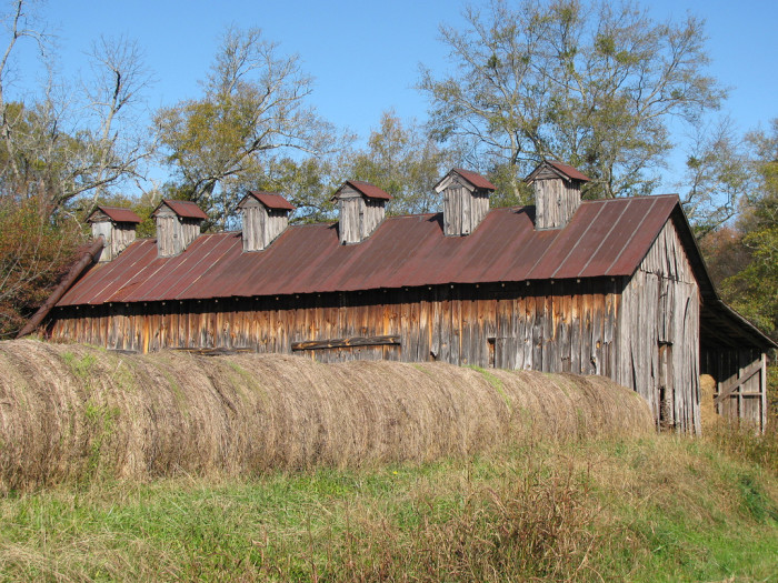 1. Located on a farm in Oxford, Alabama, this rustic barn is a TRUE BEAUTY!!!