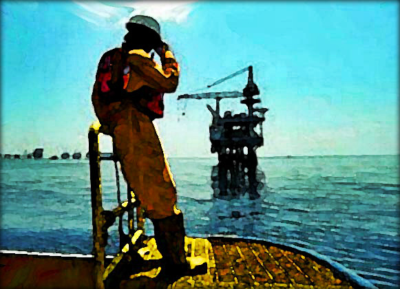 4. The Oil Rig Worker