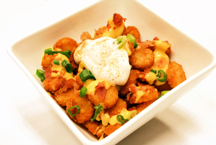 13. Totchos - A combo of two finger food favorites, these are sure to become a staple!
