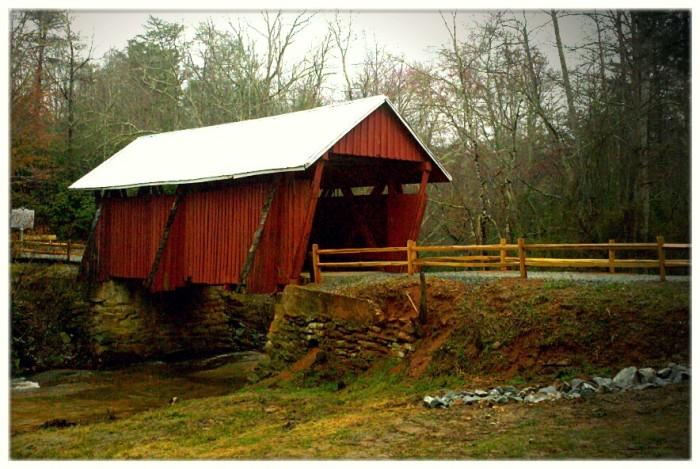 9. Campbell's Covered Bridge, Landrum