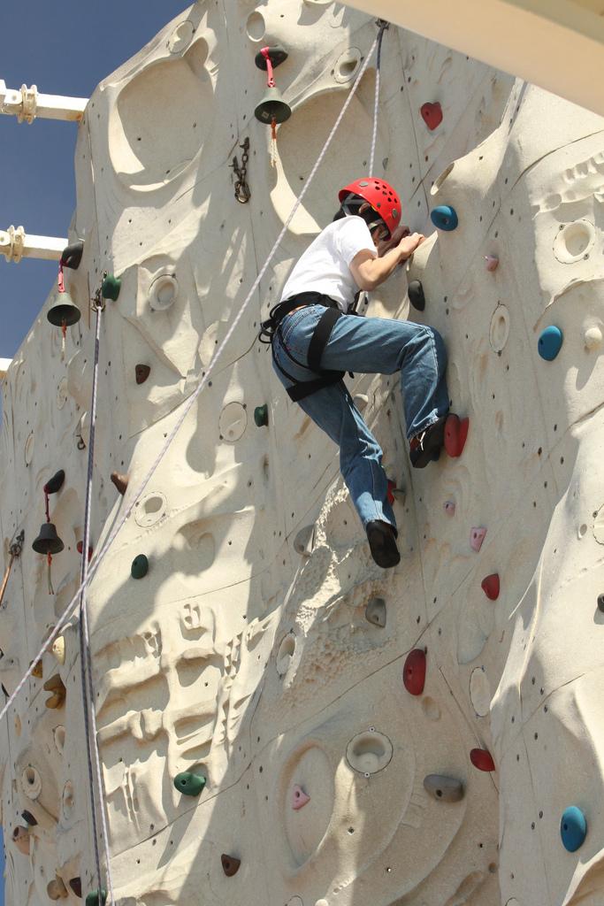 4. Indoor Rock Climbing