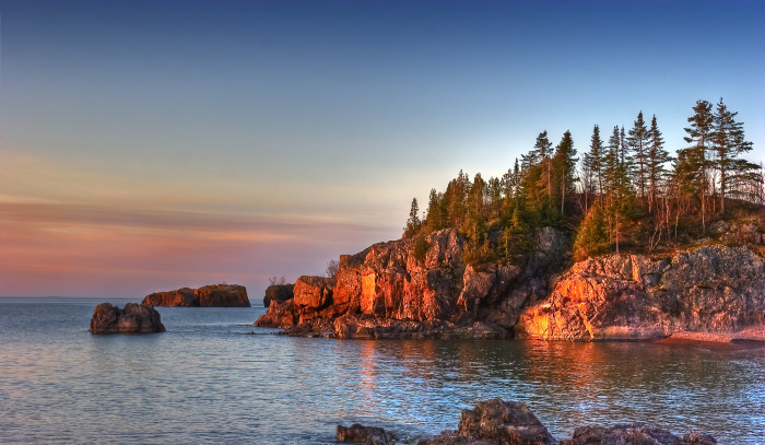 3. We have Superior's North Shore, which is undeniably one of the most beautiful places on the planet.