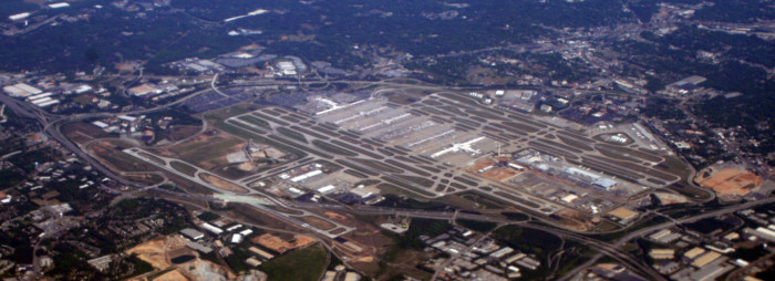 1. Hartsfield Atlanta Airport