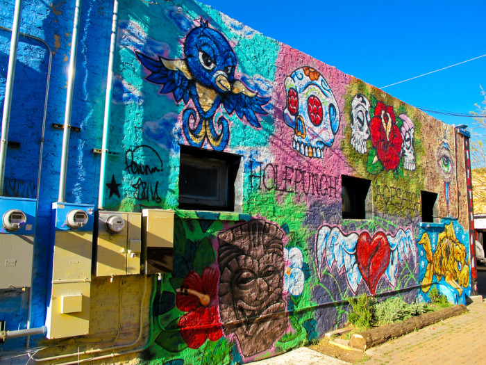13. Another Flagstaff artwork found along San Francisco Street.