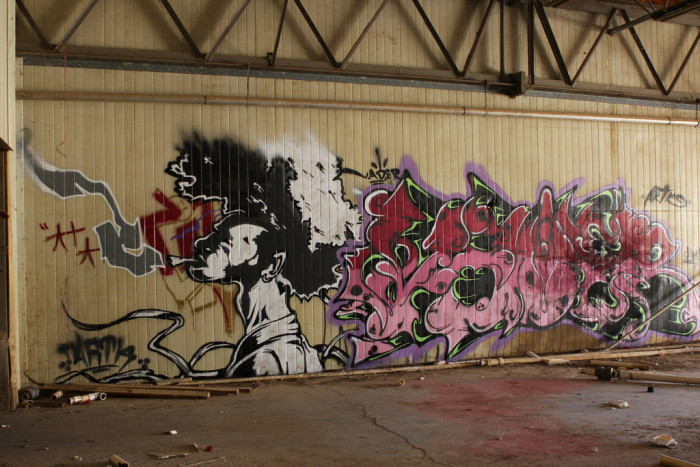 22. This was found on an abandoned building in Queen Creek.