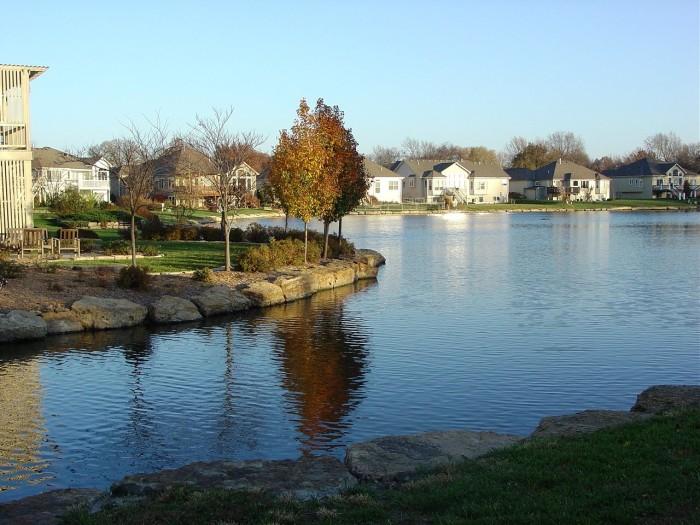 1.) Lansing (Population: 11,642)