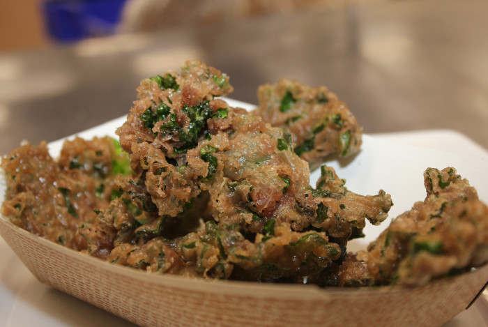 14. Wine Fried Kalettes - This is Minnesota, so even our Kale gets nice and fried! Yum!
