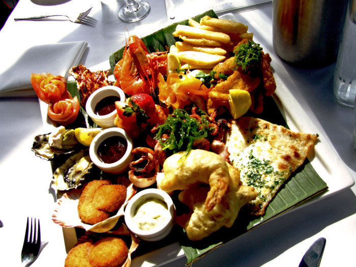 4. Seafood is always a good option.