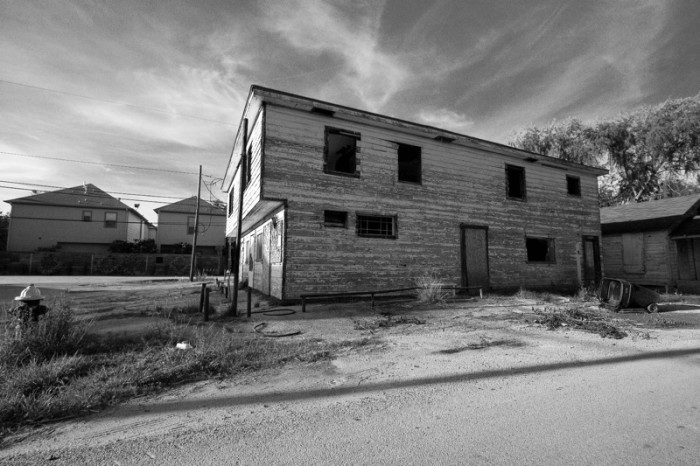 11) A defunct home somewhere in Houston looks like a haunting just waiting to happen.