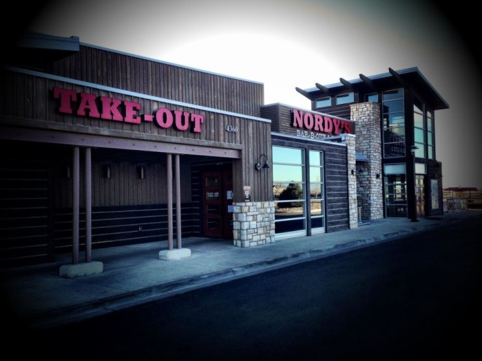 7.) Nordy's BBQ & Grill (Loveland)