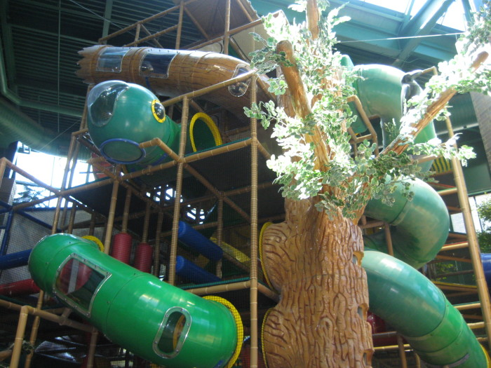 1. Play at an indoor park. MN is made for bad weather, so try an indoor park like Edinborough.