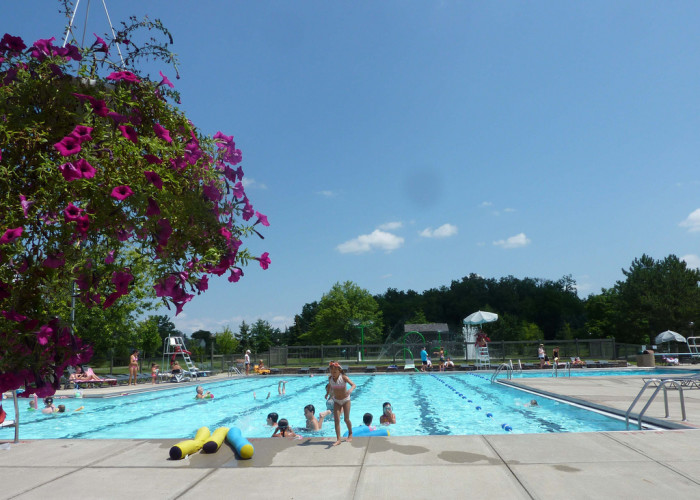 6. In Akron, posting signs at swimming pools is illegal.