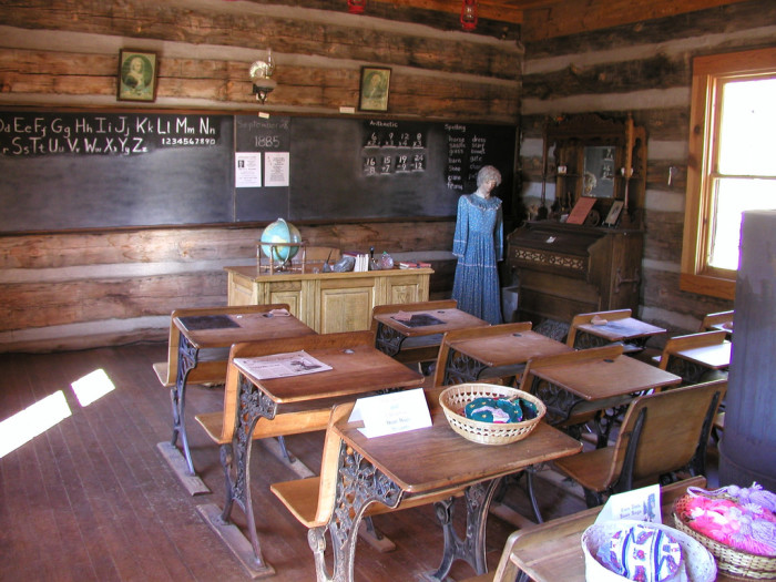 6. Show your kids what school used to be like by visiting the Pine-Strawberry Museum.