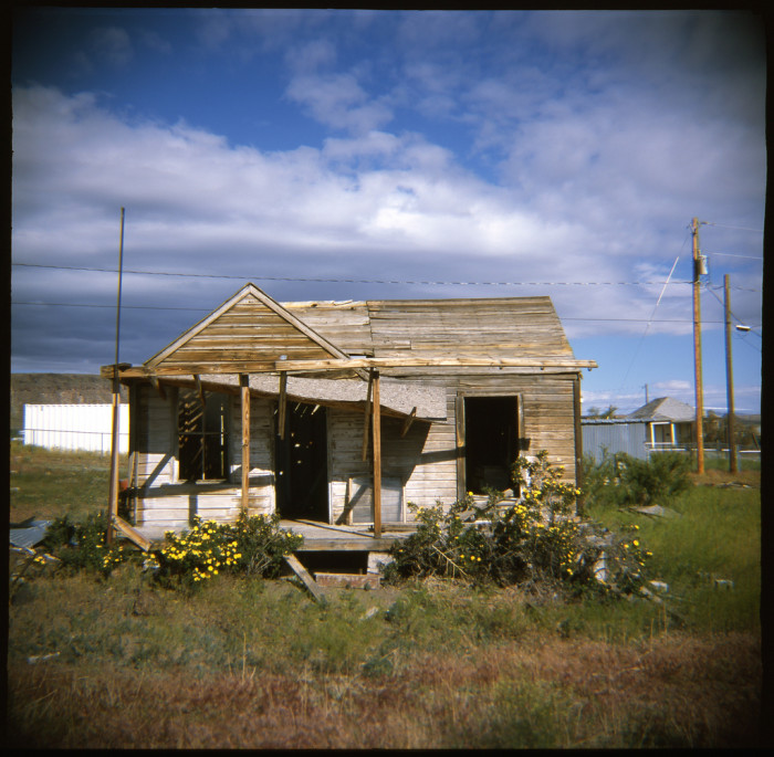 6. Located in Goldfield, Nevada, this house doesn't appear to be haunted. Then again, appearances can be deceiving.