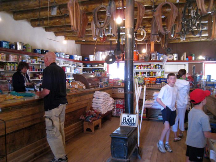 18. Today, most trading posts have either closed or been rebranded as tourist locations. Hubbell, located in Ganado on the Navajo Nation, is one example of a place that caters more towards tourists than residents these days.