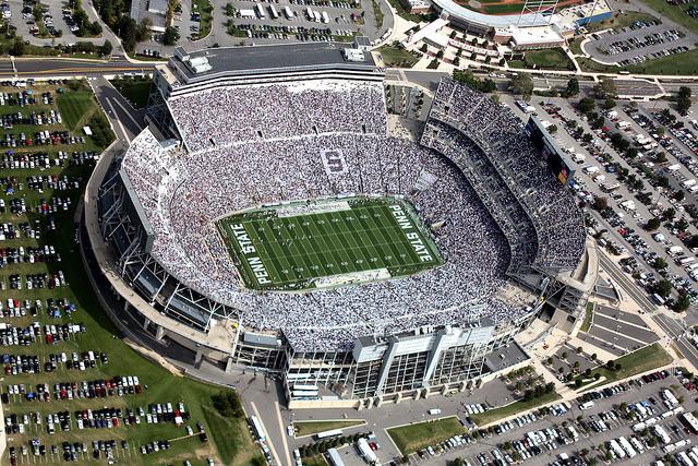 8. Beaver Stadium, Penn State University