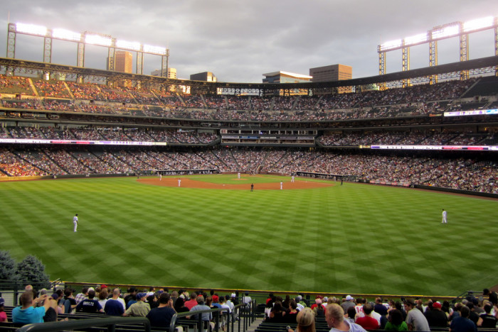 5.) Attend a Rockies Game