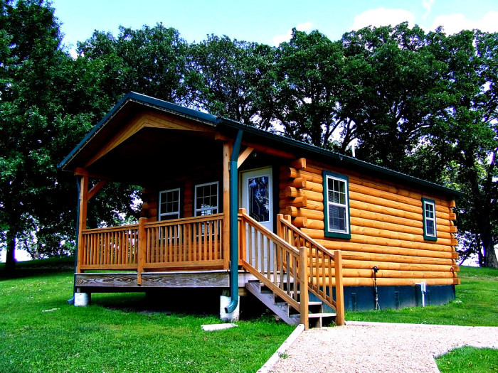 4. Cabins at Crystal Lake, Forest City