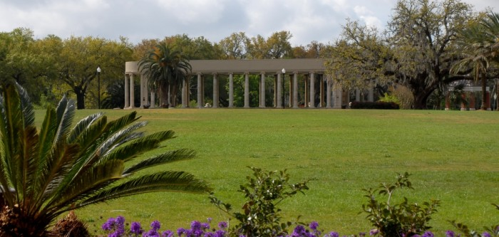 2) City Park Peristyle – The Case of Benjamin Button