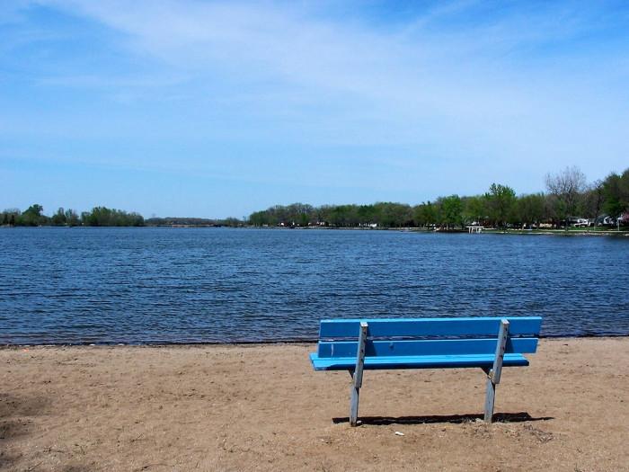 4. Five Island Lake, near Emmetsburg