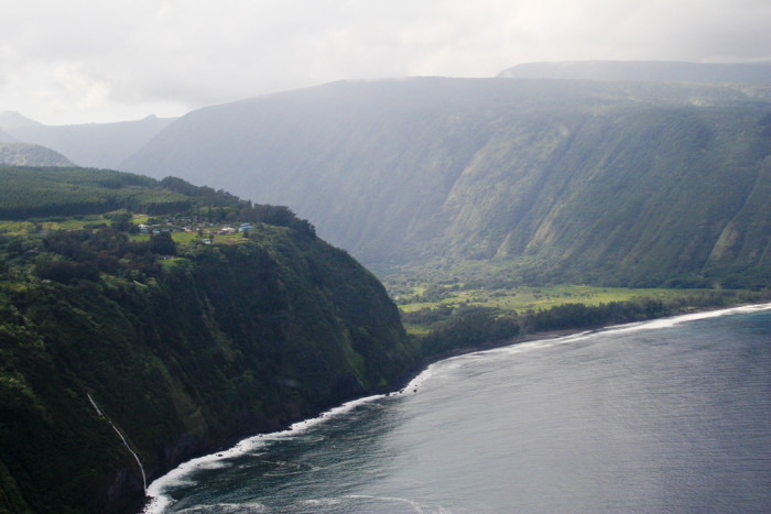 5) The Big Island's Waipio Valley isn't nearly as imposing as it feels from ground level.