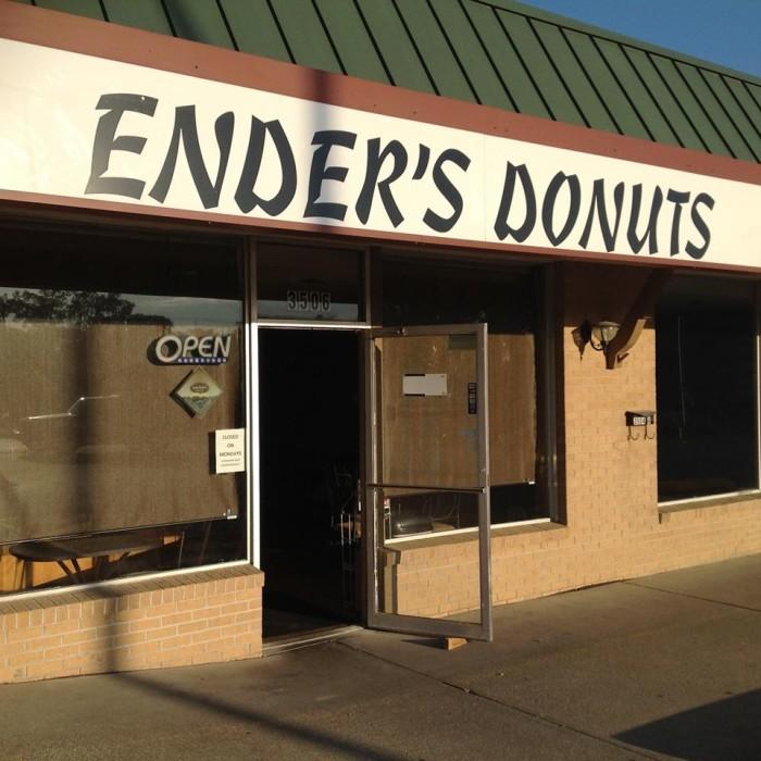 5. Ender's Donuts, St. Joseph