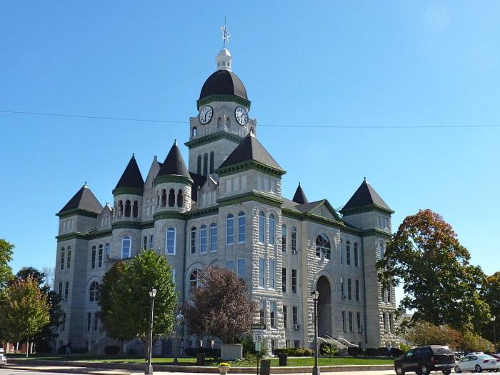 5. Jasper County Courthouse, Carthage