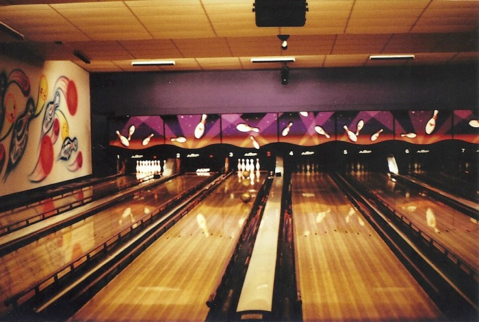 1. Go to the bowling alley and knock down some pins...or in my case roll balls into the gutter.