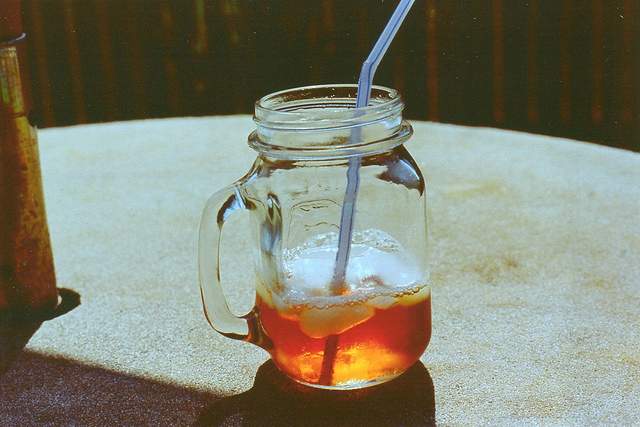4. Cool off with a sweet tea.