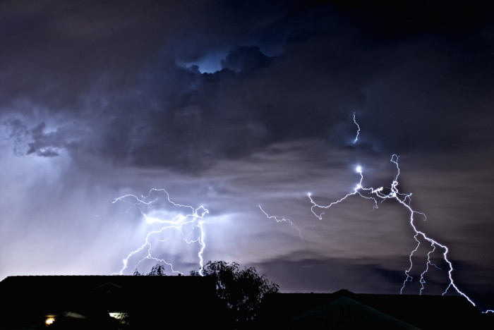 3. I have one word to describe this Las Vegas lightning storm: WOW!!!