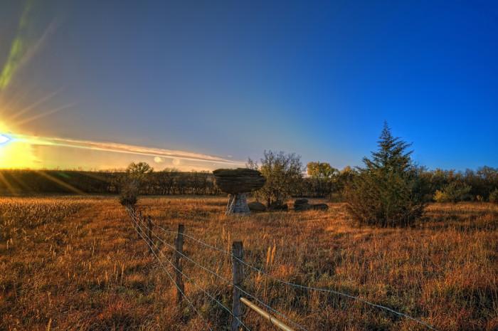 3.) Mushroom Rock State Park (Brookville)