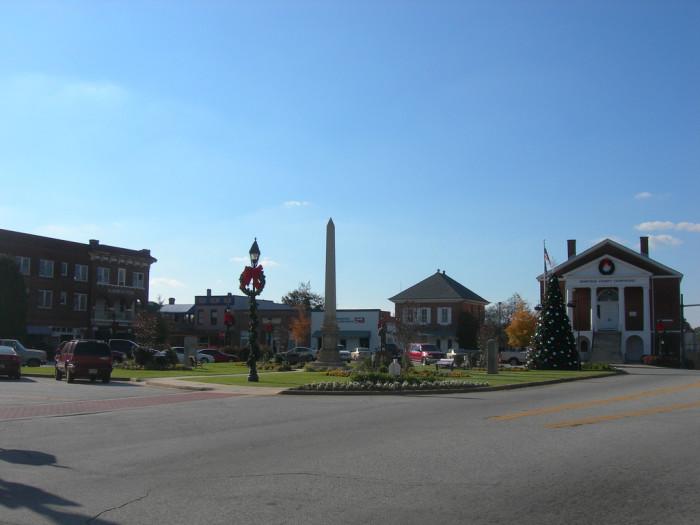 7. Edgefield, SC