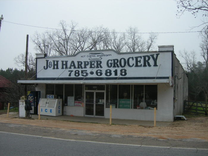 5. J & H Harper Grocery, Hot Coffee