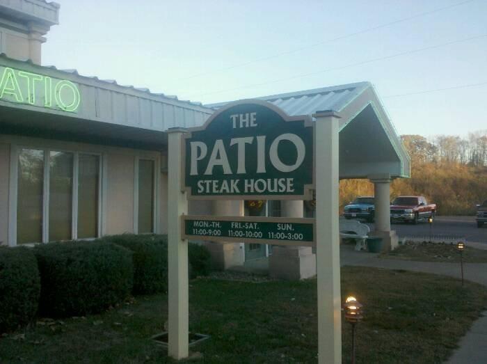 5. The Patio Steak House
