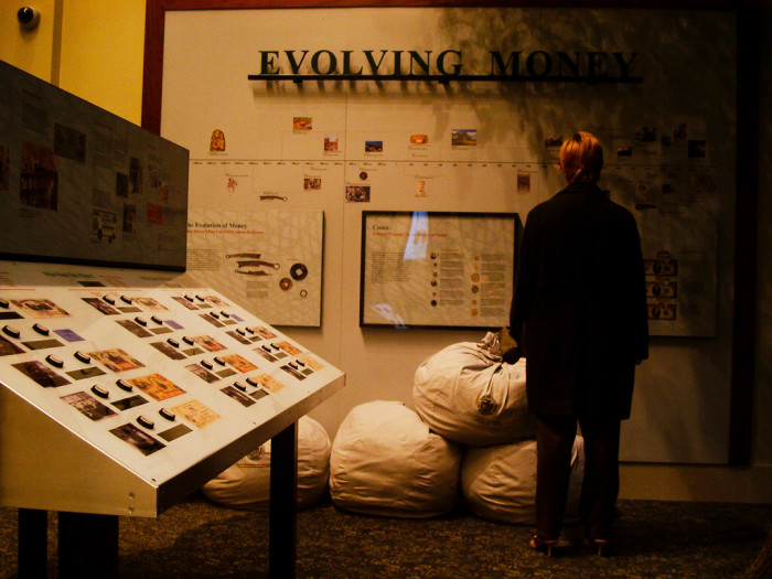 """14) Check out """"The Money Museum."""""""
