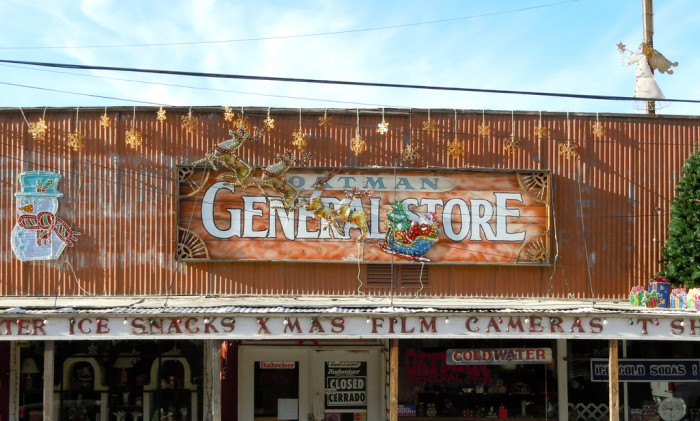 8. Oatman General Store, Oatman