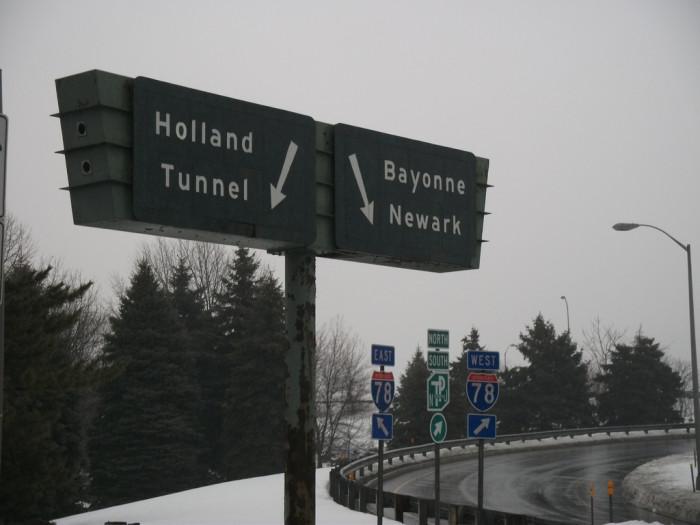 6. Taken the long way to avoid tolls.