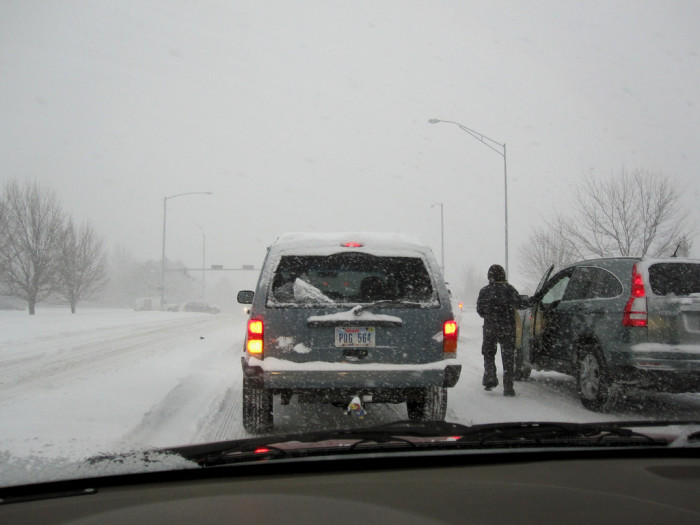 Learn to drive well in the snow and ice or just don't drive in the winter at all.