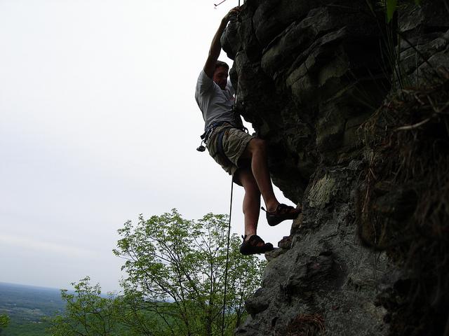 6. Steep climb