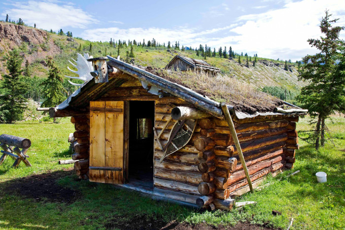 7) Private Cabin Along The Alaskan Yukon Border