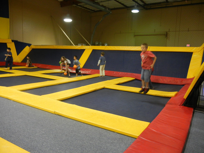 8. You can always try an indoor trampoline place. There's nothing like pretending you're Tigger for a day!
