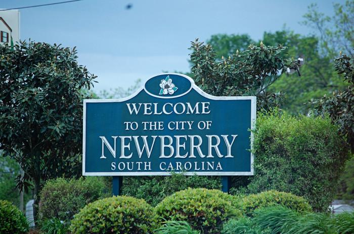 4. Newberry, SC